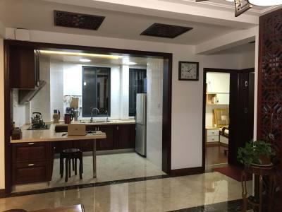 出售朝輝首府中式精裝3室1廳1衛87+7平米(含2個地下車位)